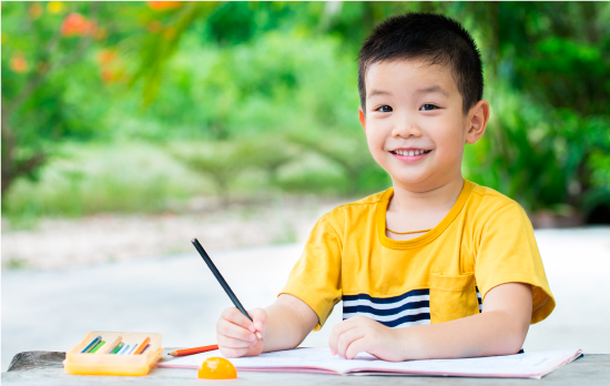 Dành cho trẻ em từ 3 - 3.5 tuổi